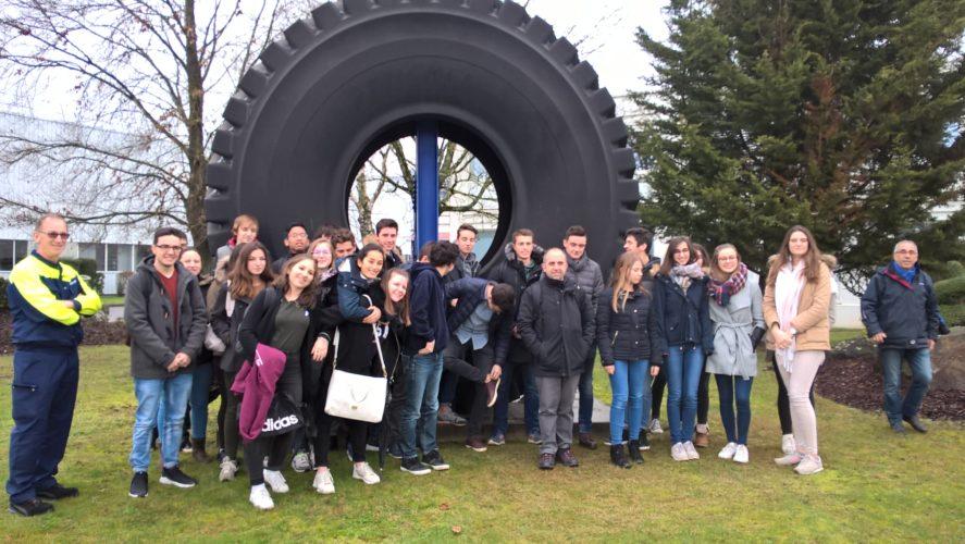 Les élèves visitent Michelin à Blanzy et Moncia à Montceau Les Mines
